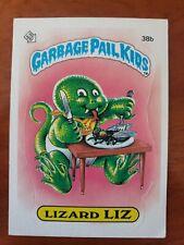1985 Topps Garbage Pail Kids Gpk Os1 Lizard Liz Matte First Series