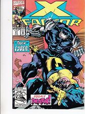 X-FACTOR  #81 1992 -TOUCH OF CYBER = DEATH -BELLES OF THE BALL DAVID/HARRAS...VF