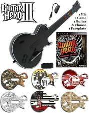 NEW PS3 Guitar Hero III Les Paul Controller w/ Dongle & GH Warriors of Rock Game