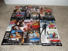 Johnny Lightning James Bond 007 Lot of 6 Cars New Playing Manthis