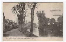 Les Bords du Somme Abbeville France 1910s postcard