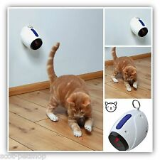 CAT LASER CHASER - MOVING LIGHT - KEEP YOUR CAT BUSY AND STIMULATED