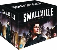 SMALLVILLE Complete Collection Series 1-9 DVD Season 1 2 3 4 5 6 789 UK R2 NEW
