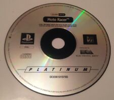 Vintage 1999 PS1 Moto Racer Sony PlayStation Game Disc Platinum Edition PS2 PS3