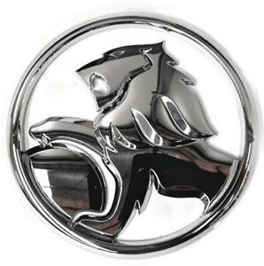 Genuine Holden New Boot Lid Lion Badge Chrome Suits Sedan VF Commodore