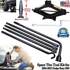For Dodge Ram 1500 Portable Tools Kit 2Ton Scissor Jack & Spare Tire Lug Wrench