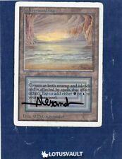 MTG - Unlimited: Underground Sea (Signed) [LV1853]