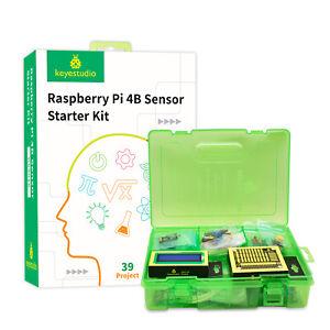 KEYESTUDIO Python Programming Kit  Sensor Starter Kit For Raspberry Pi 4B STEM
