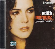 Edith Marquez La Musica de Jua Carlos Calderon CD New Nuevo Sealed