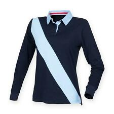 Women's Striped Collared Casual Tops & Shirts
