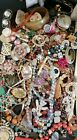 A Mix Of Usable Vintage/antique Jewellery 30s To 90s. 1.731 Kilo Lot. (1)