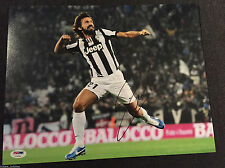 Juventus Andrea Pirlo Autographed Signed 11x14 Photo PSA/DNA COA #1