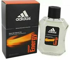 Deep Energy by Adidas for Men EDT  Spray 3.4 oz. new in box