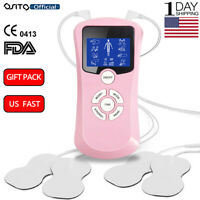 OSITO Tens Unit Pink Pulse Massager Muscle Stimulator Therapy Pain Relief Girls
