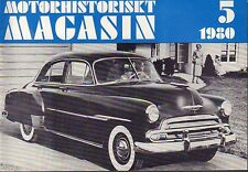 Motorhistoriskt Magasin Swedish Car Magazine 5 1980 Chevrolet 032717nonDBE
