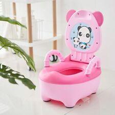Portable Baby Toilet for Potty Training Cartoon Panda Toilet Seat for Baby Potty