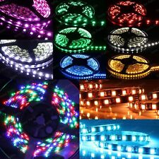 5m RGB 5050 SMD LED 300 LEDs Waterproof Flexible 3M Self Adhesive Light Strip