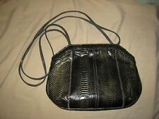 vintage bags by varon snakeskin bag 70's/80's mixed colors