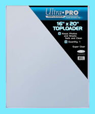 1 ULTRA PRO 16x20 TOPLOADER NEW Photo Collectible Rigid Document Art Poster