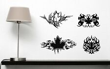Wall Sticker Vinyl Decal Symbol Maple Leaves Tree Powerful Sign Strength (n140)