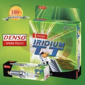 4 X DENSO IRIDIUM SPARK PLUGS for TOYOTA COROLLA ZRE152 2RZ-FE SC20HR11