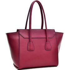 Women Large Handbags Faux Leather Casual Satchel Bags Shoulder Purse