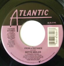 BETTE MIDLER:  FROM A DISTANCE / ONE MORE ROUND:  NEAR MINT SINGLE FROM 1990