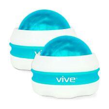 Vive Massage Roller Ball (2-Pack) - Self, Full Body Manual Mini Massager for ...
