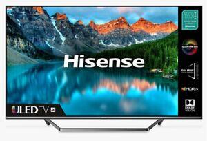 "Hisense 55U7QFTUK (2020) 55"" Smart 4K Ultra HD QLED TV HDR Freeview Play"