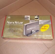 """NEW VANTEC NexStar NST-350UF Aluminum 3.5"""" IDE USB 2.0 & 1394 External Enclosure"""