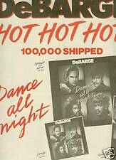 Debarge Is Triple Hot 1987 Promo Poster Ad mint!