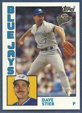 2003 Topps Fan Favorites Baseball - #33 - Dave Stieb - Blue Jays