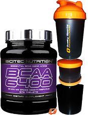 Scitec Nutrition BCAA 6400 Essential Amino Acids 125/375 Caps Whey Protein 30g 375caps