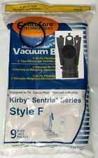 9 F Style Microfiltration Vacuum Bags for Kirby Sentria I & II G10D + FREE BELT