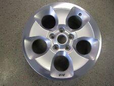 "2013-2016 Jeep Wrangler 18"" Aluminum Alloy Wheel Rim 5 Spoke  Hollander #9119"