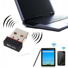 Mini USB 2.0 802.11n 150Mbps Wifi Network Adapter for Windows Linux PC