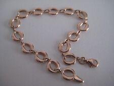 Rose gold bracelet 9 carat links