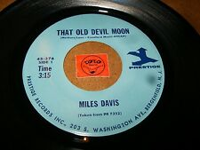 MILES DAVIS - THAT OLD DEVIL MOON - YOU DON'T KNOW WHAT LOVE    / LISTEN - JAZZ