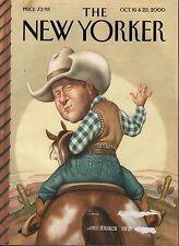 The New Yorker October 16 & 23 2000 Bill Clinton  072117nonDBE2