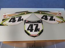 KX250F KX 250F KXF 250F 450F KX450F 450 09-11 SIDE PANEL PLATES DECALS GRAPHICS