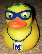 2017 Krewe Of Muses Rubber Duck In Mask With Shoe Mardi Gras New Orleans