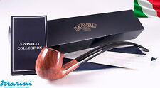 Pipa pipe pfeife Savinelli Churchwarden lunga radica liscia 601 made in italy