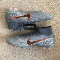 Nike Mercurial Superfly 6 Elite FG ACC Grey/Black Size 11 AH7365-409 NEW Soccer