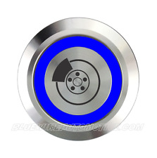 BILLET LINE LOCKER BUTTON HOT ROD HOLDEN COMMODORE CHEV FORD FALCON DRAG RACE