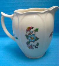 🌼 Pitcher Jas. Broadhurst Pottery England Cornflower Design Vintage