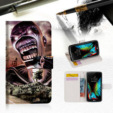 Iron Maiden Wallet Case Cover For ZTE AXON 7 / AXON 2 --A014