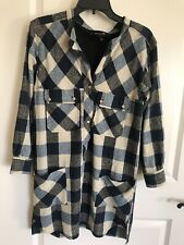 Isabel Marant Etoile Silk Check Tunic dress in Size 1 Small