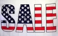 Sale Flag 3' X 5' USA Stars And Stripes Indoor Outdoor Business Banner