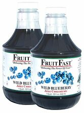 """Wild Blueberry Juice Concentrate """"Cold Filled"""" TWO QUART 128 DAY SUPPLY"""