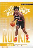 19/20 Panini Absolute Yellow Rookies #20 Nassir Little - Portland Trail Blazers